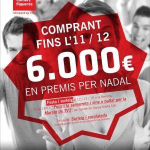 COMERÇ FIGUERES ASSOCIACIÓ SORTEJARÀ 6.000€ EN PREMIS EL 12/12