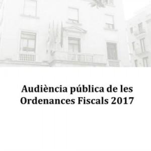 Figueres obre el període per presentar al·legacions a les Ordenances Fiscals per a l'exercici 2017.