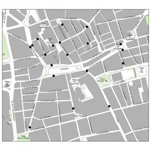 Els comptadors de flux de persones instal·lats a Figueres, desvetllen les seves primeres xifres