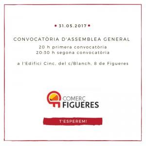Convocatòria d'Assemblea General de Socis de Comerç Figueres