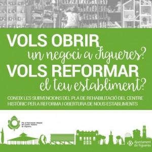 Trobada informativa de les subvencions per a reforma i obertura de nous establiments a Figueres.